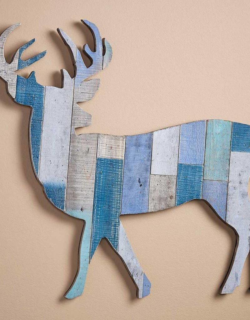 Slat Wood Wall Decor - Deer