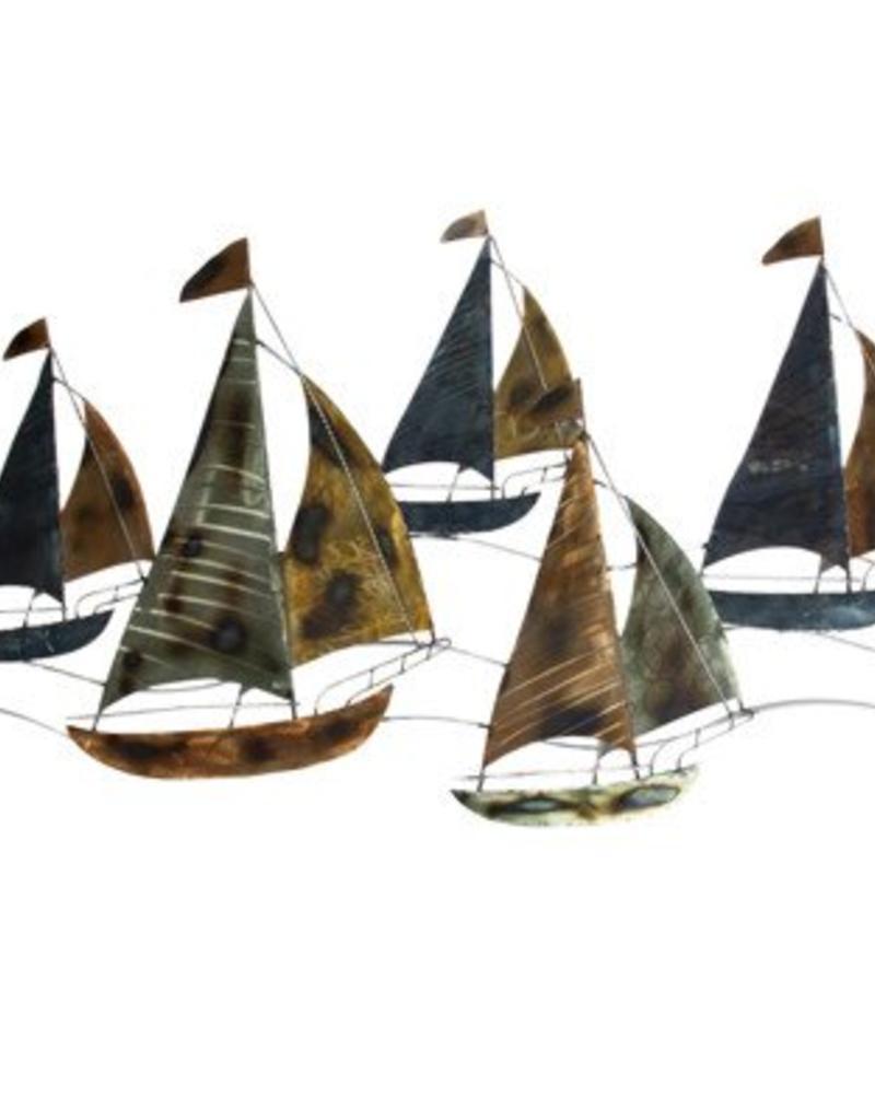 Sailing Regatta Wall Décor