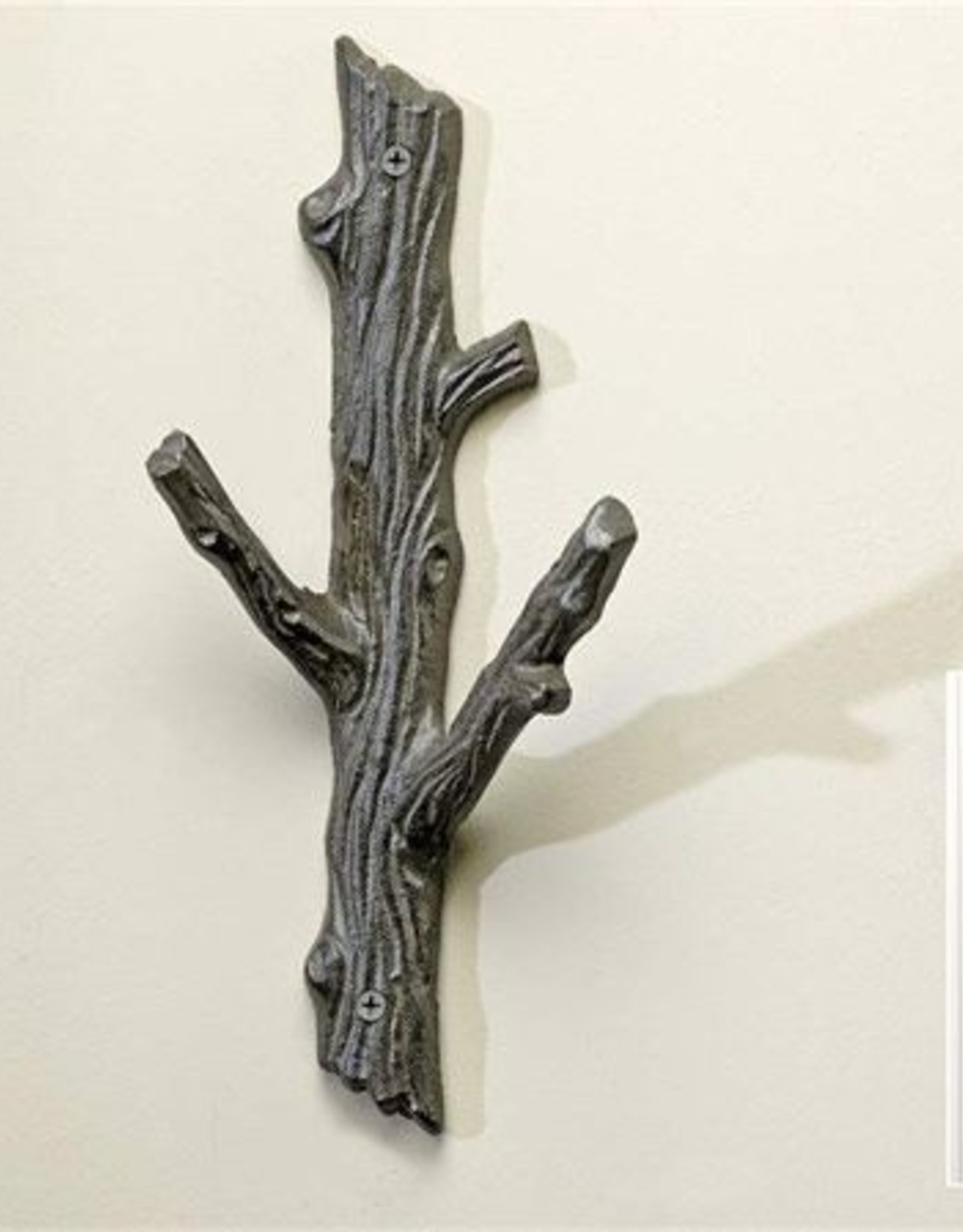 Wall Hook - Cast Iron Tree Branch - Large