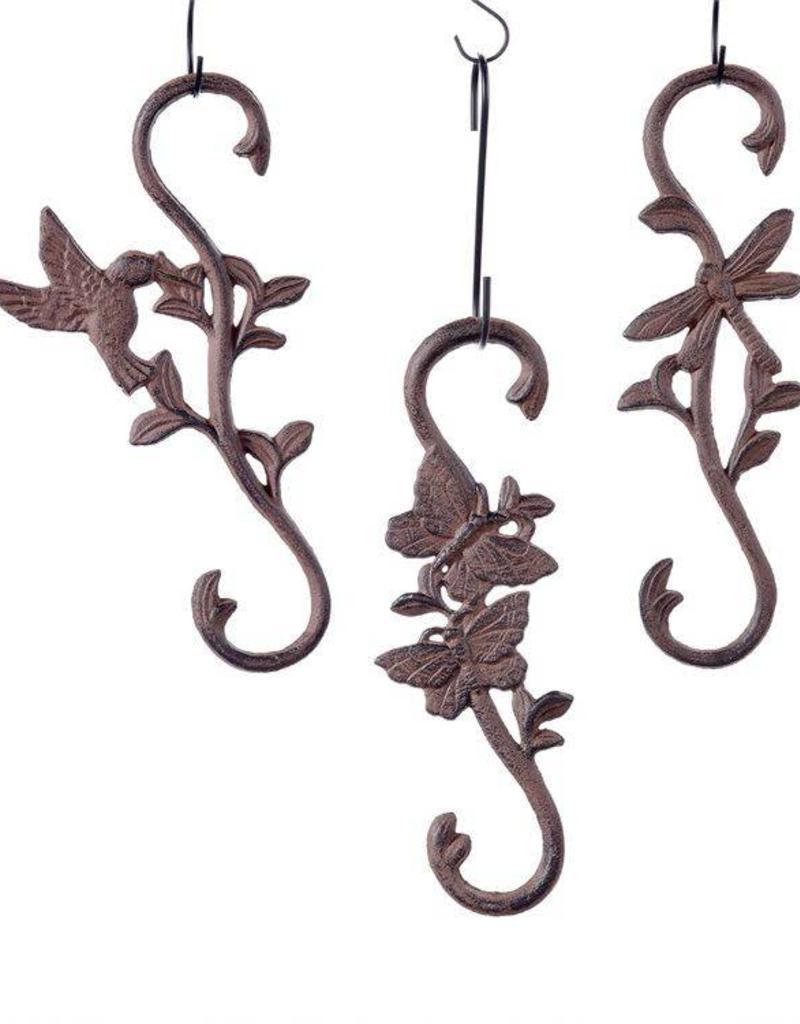 Cast Iron Garden 'S' Hooks