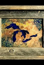 Great Lakes Copper & Resign Art - 5 x 7