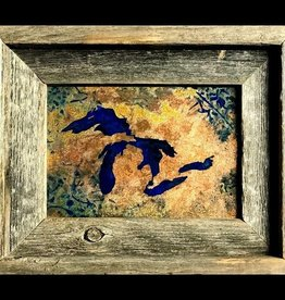 Great Lakes Copper Art - 5x7