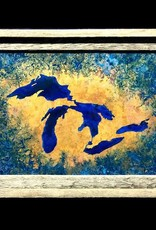 Great Lakes Copper Art 12x18