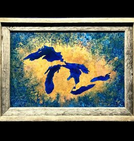 Great Lakes Copper Art 12x18