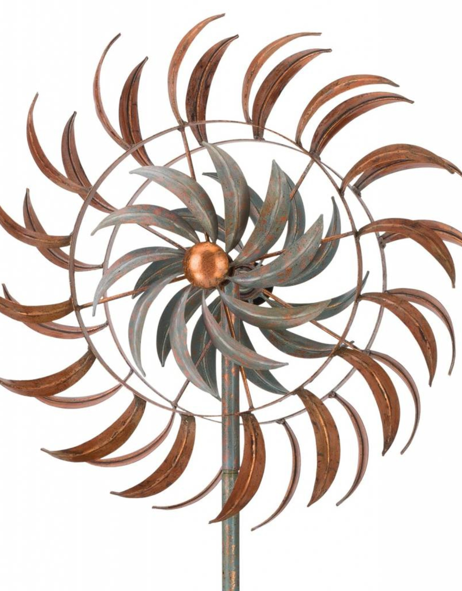 24'' Kinetic Stake - Copper Petals