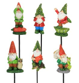 Mini Gnome Planter Stakes