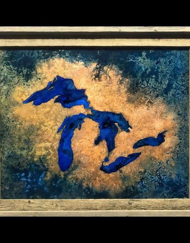 Great Lakes Copper Art 16 x 20