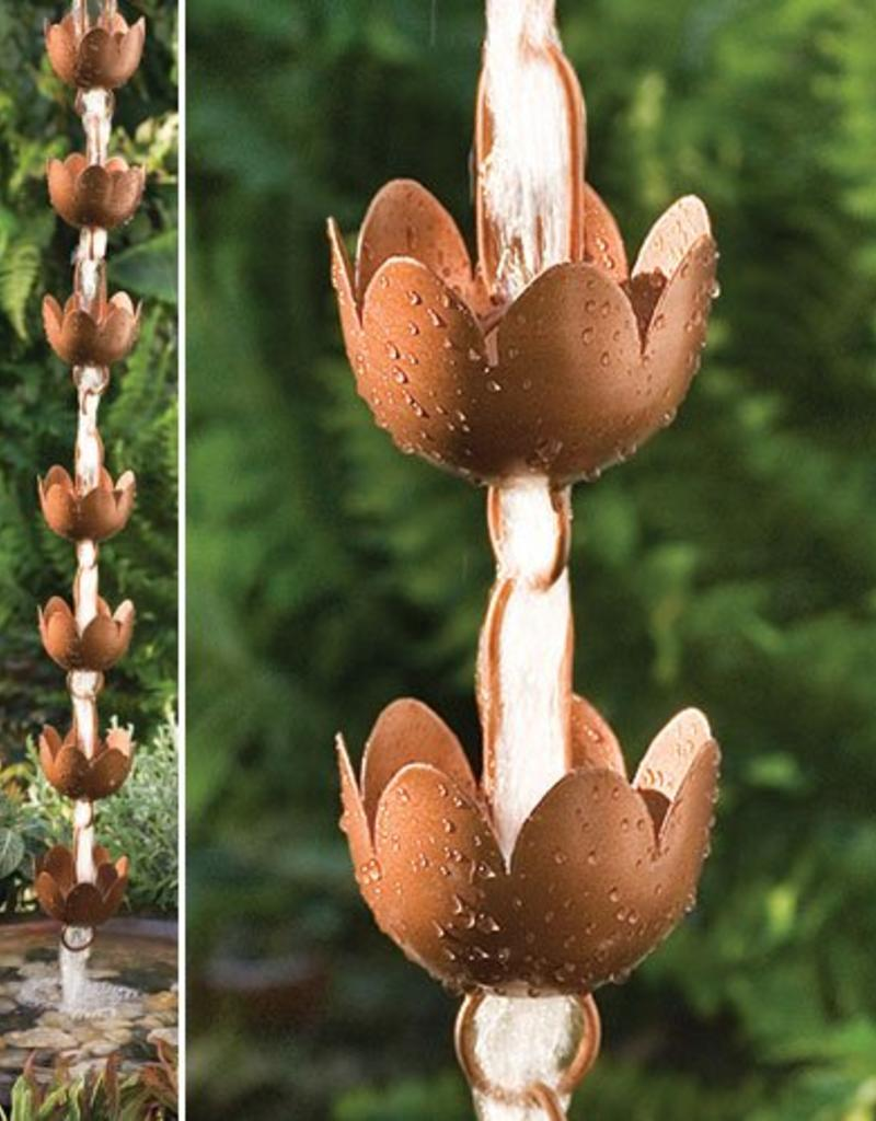 Rain Chain - Lily Cup