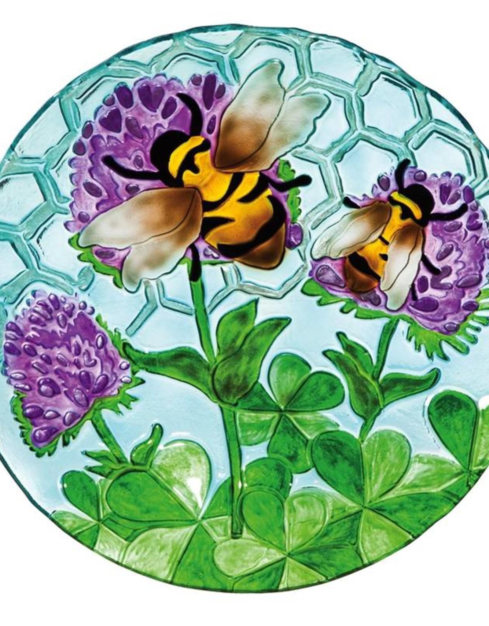 Bird Bath - Bees & Thistles