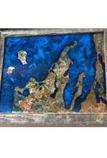 Leelanau Copper Art 16 x 20 - Patina