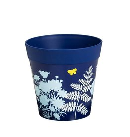 Planter Pot - Blue Fern