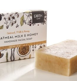Oatmeal, Milk, & Honey Handmade Facial Soap