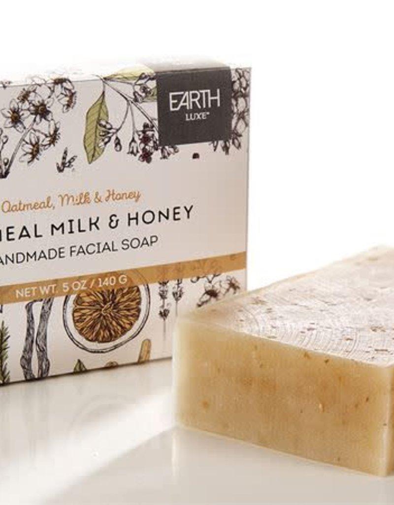 Oatmeal, Milk, & Honey Handmade Facial Soap