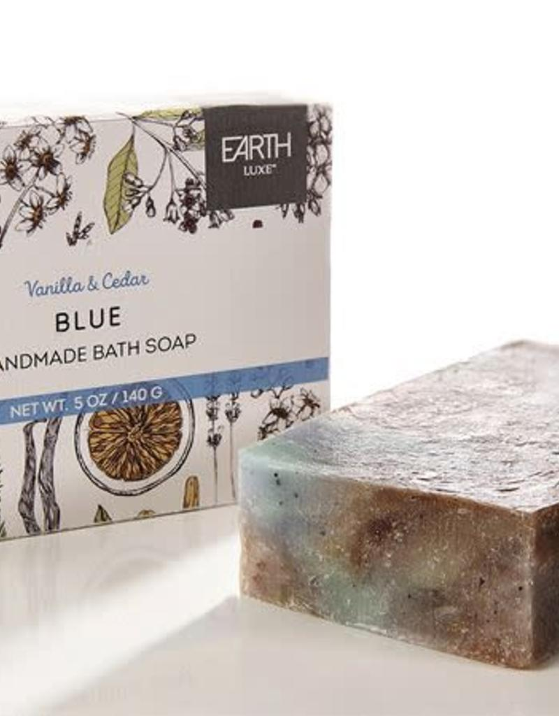 Blue Natural Handmade Bath Soap
