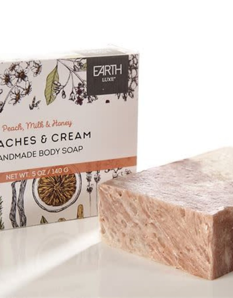 Peaches & Cream Handmade Body Soap