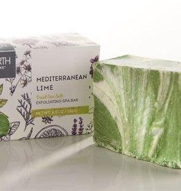 Mediterranean Lime Salt Handmade Soap