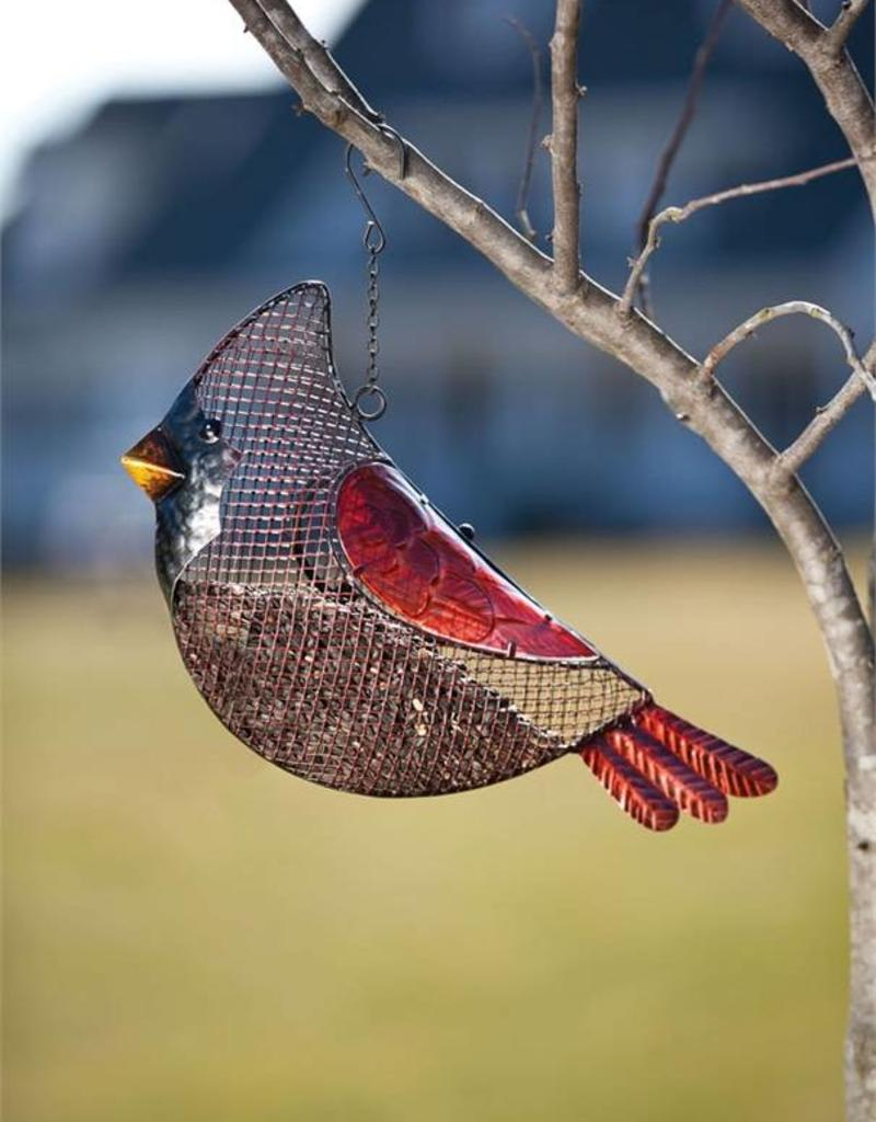 Bird Feeder - Cardinal Long