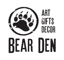 The Bear Den Your source for unique art, gifts, and decor. Garden and outdoor decor including spinners and kinetic art, tree faces, and solar lanterns. Located in Leelanau County