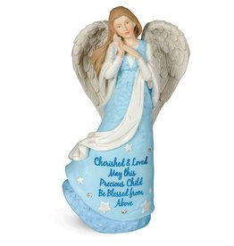 Blessings for Boys Angel Figurine