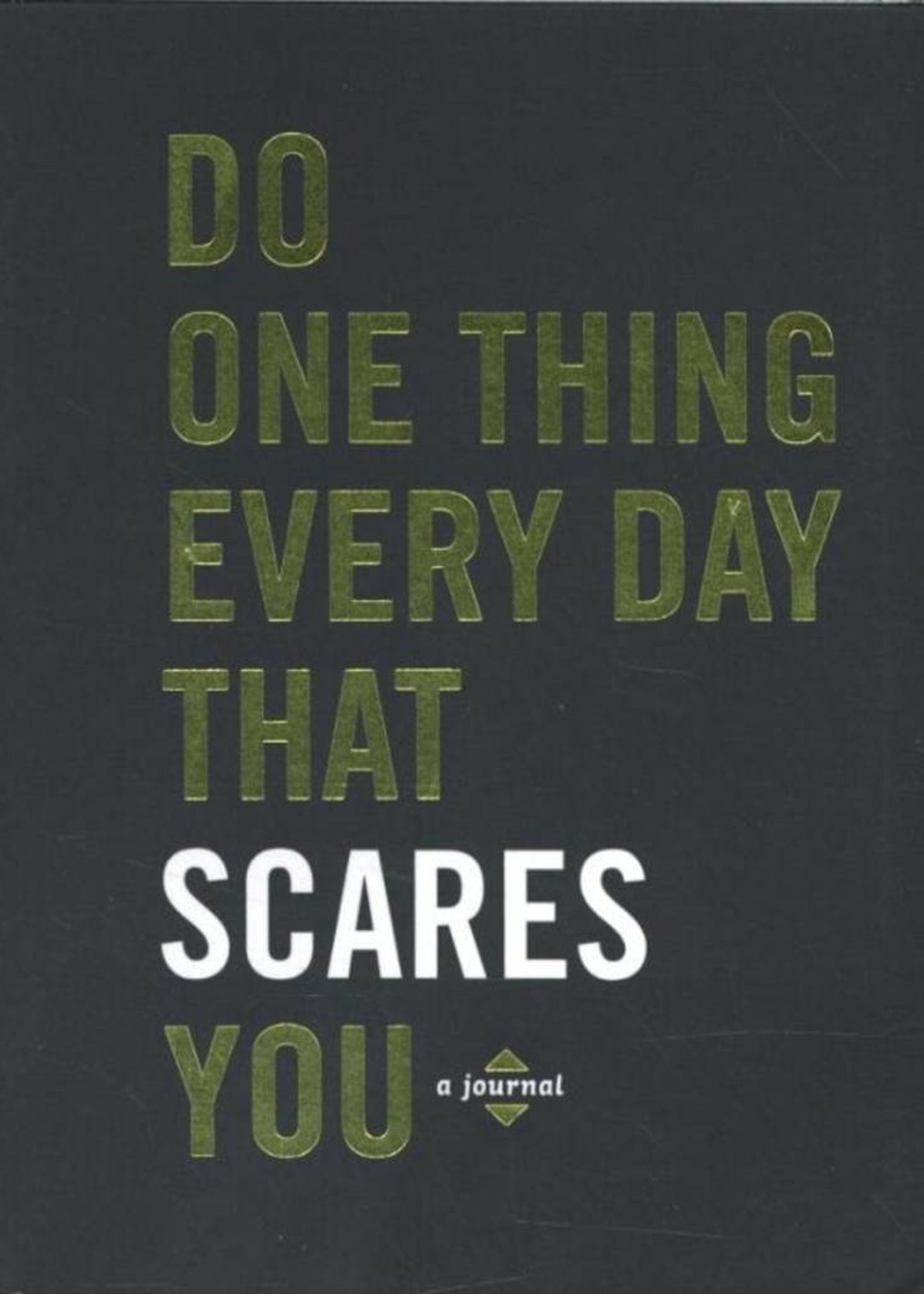 Do One Thing Every Day That Scares You | A Journal of 365 Acts of Bravery