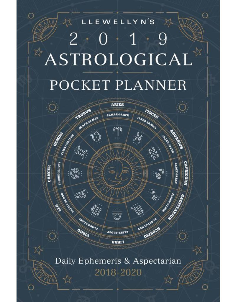 Llewellyn's 2019 Astrological Pocket Planner | Daily Ephemeris & Aspectarian 2018-2020