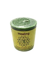 Healing Votive Chakra Candle