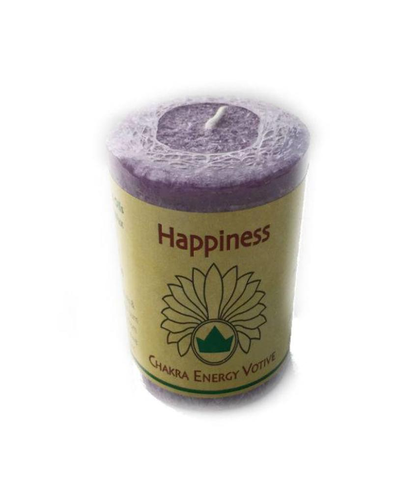 Happiness Votive Chakra Candle