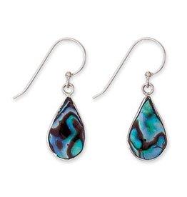 Paua Teardrop Earrings