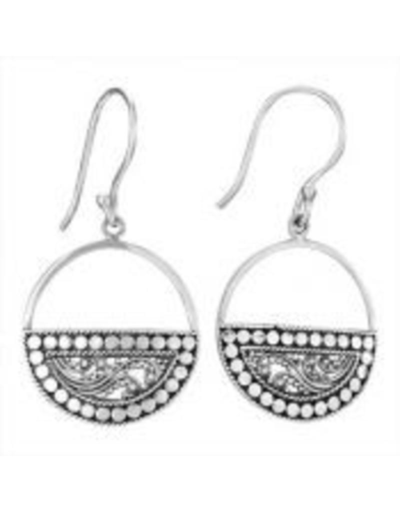 Bottom Half Ring Earrings