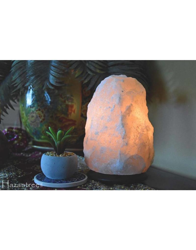 Natural White Himalayan Salt Lamp