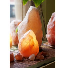 Small Amber Himalayan Salt Lamp