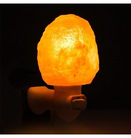 Amber Himalayan Salt Night Light