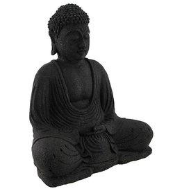 Volcanic Stone Buddha Statue & Incense Burner