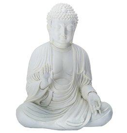 White Amida Buddha Statue