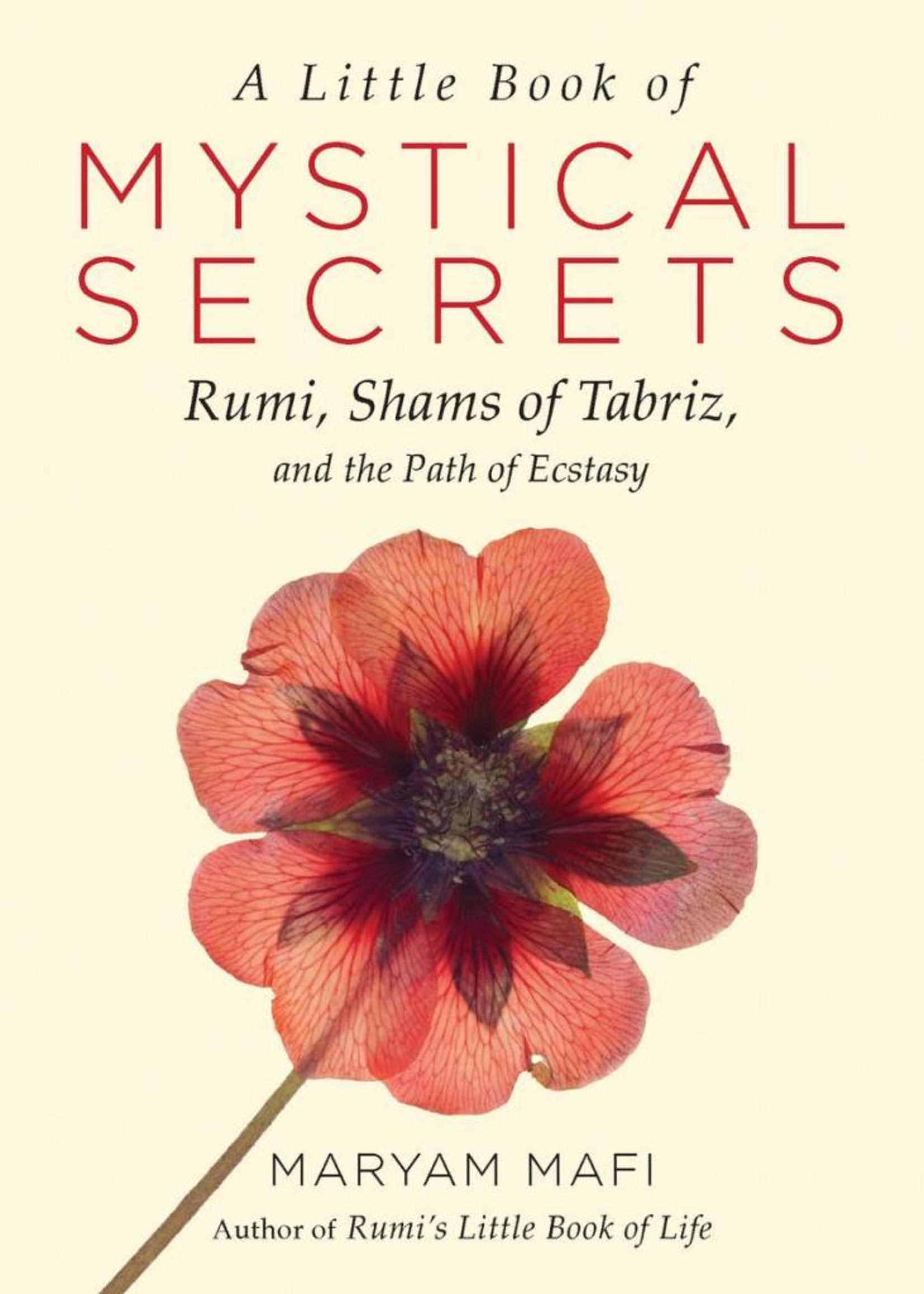A Little Book of Mystical Secrets   Rumi, Shams of Tabriz, and the Path of Ecstasy