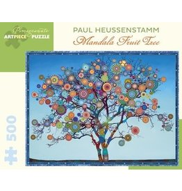 Mandala Fruit Tree Jigsaw Puzzle