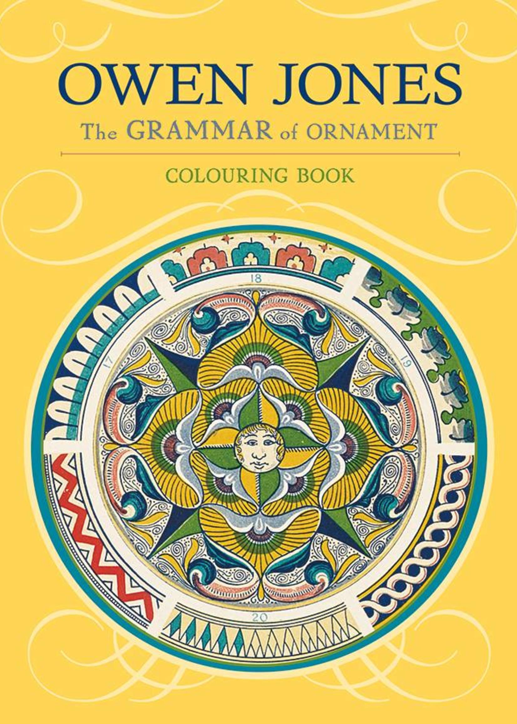 The Grammar of Ornament Adult Coloring Book