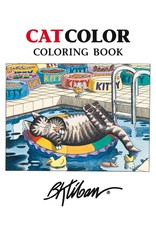 CatColor Adult Coloring Book