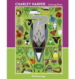 Charlie Harper 50 Drawings Adult Coloring Book