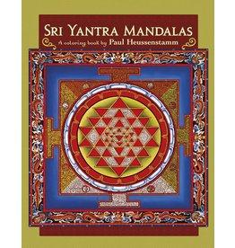 Sri Yantra Mandalas Adult Coloring Book