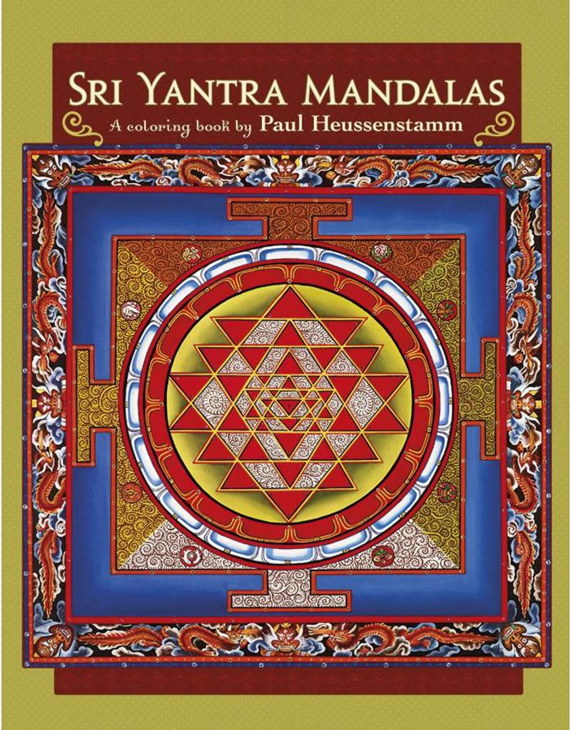 Sri Yantra Mandalas Adult Coloring Book