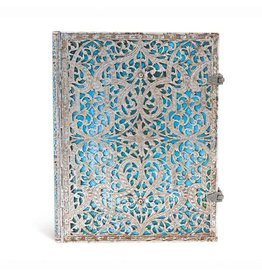 Silver Filigree Collection Maya Blue Ultra Journal