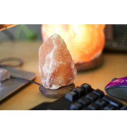 Mini Amber Salt Lamp (USB)