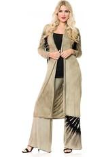 Hand-beaded Duster Coat