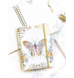 Paisley Butterfly Spiral Journal