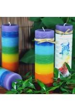 7 Layer Chakra Candle