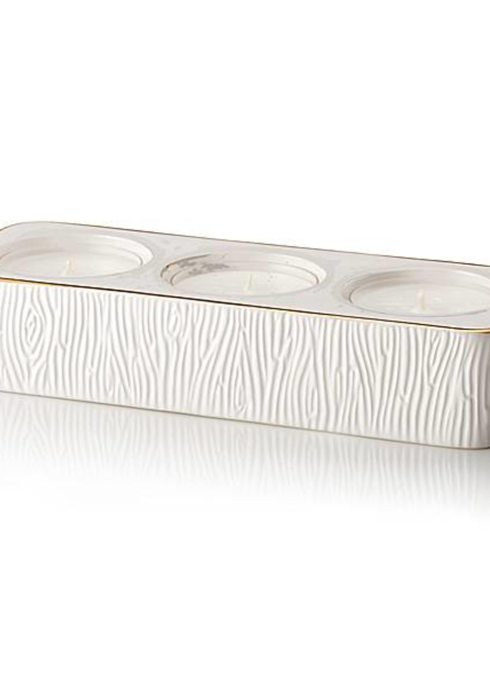 Frasier Fir Ceramic Tealight Set
