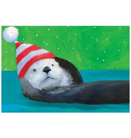 Christmas Card Sea Otter