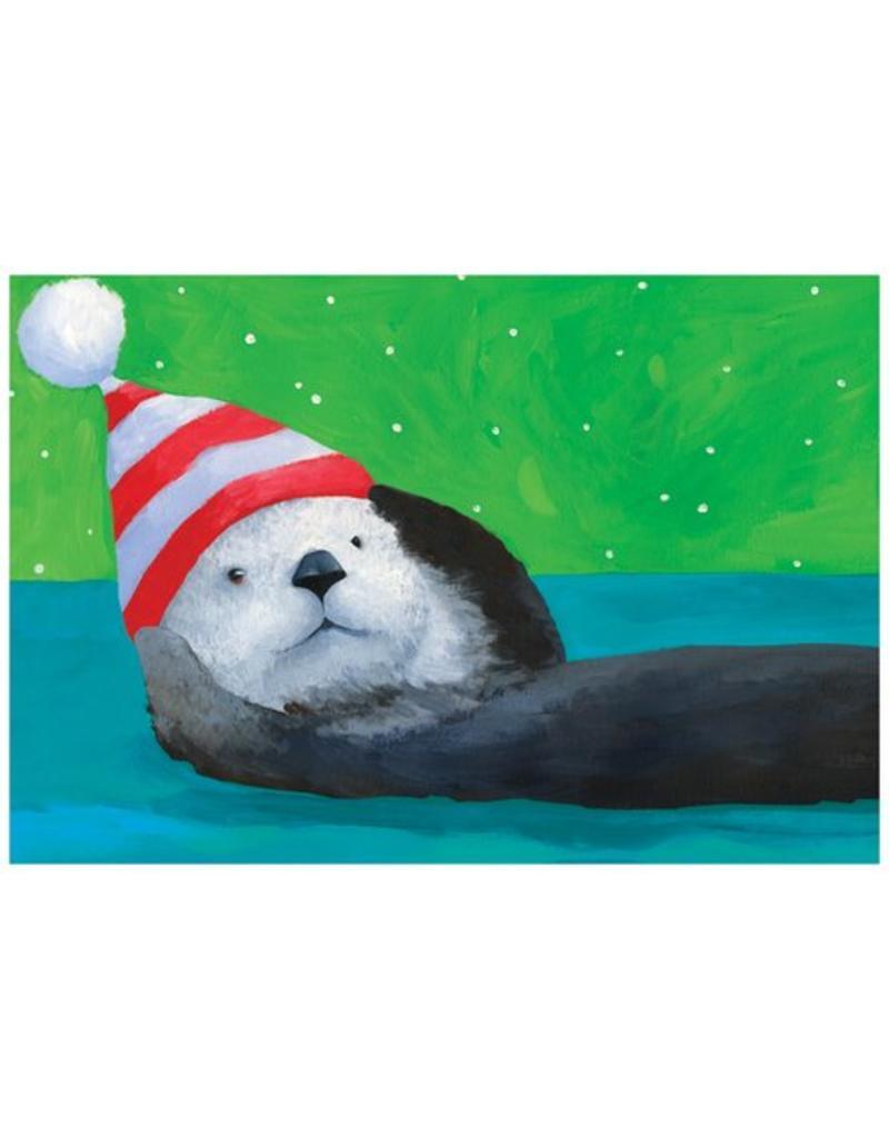Christmas Card Sea Otter