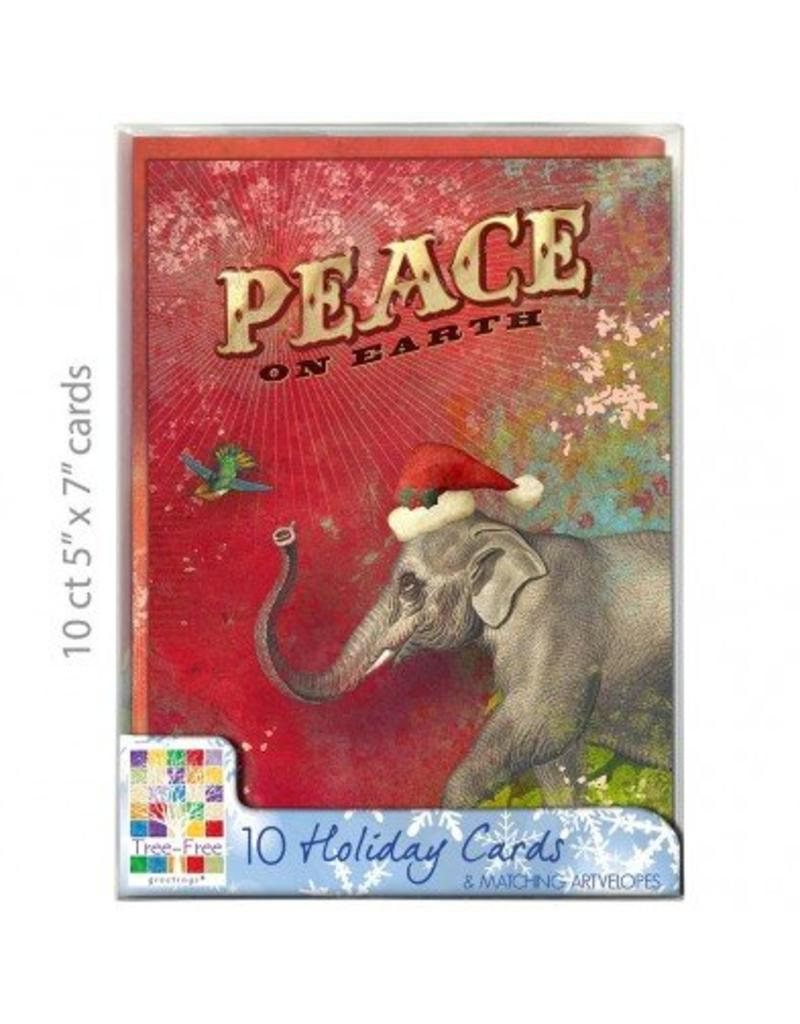 Christmas Card Peace on Earth